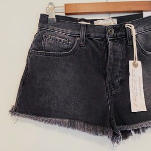 Band of Gypsies Zoey Black High Rise Shorts